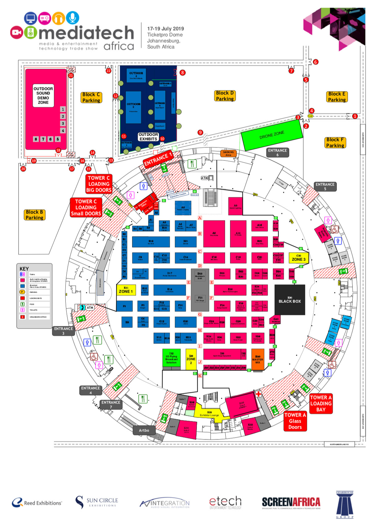 Mediatech 2019 - Floor Plan
